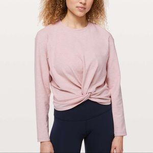 LULULEMON Tuck & Gather Pullover Size 10